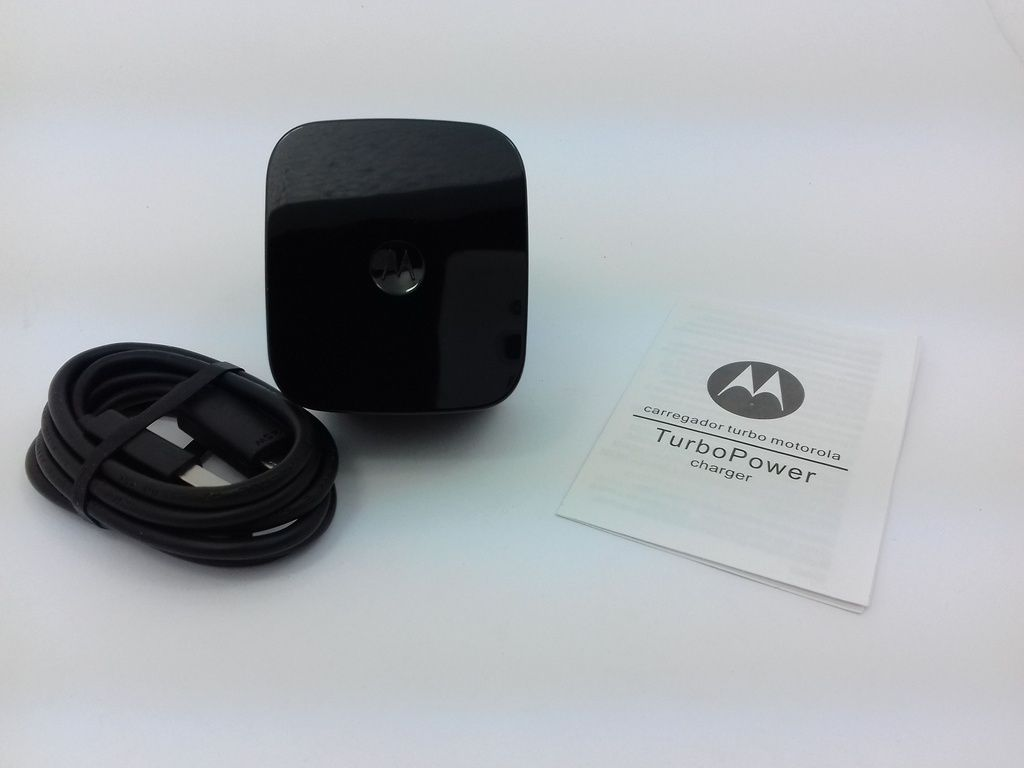 Carregador Motorola Turbo Power Carga Rápida 15w