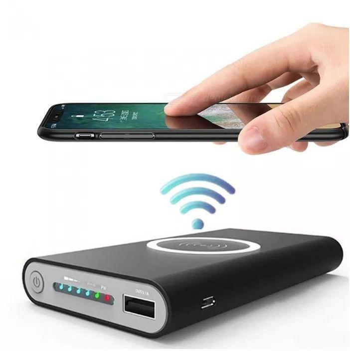 Carregador Rápido Sem Fio para Smartphones com Função Qi