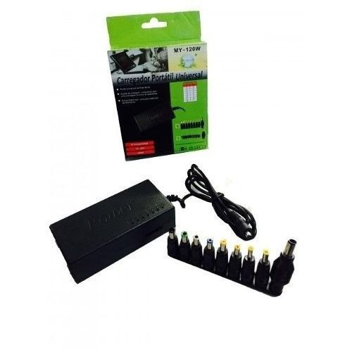 Carregador Universal Portátil para Notebook Power Adapter MY-120W