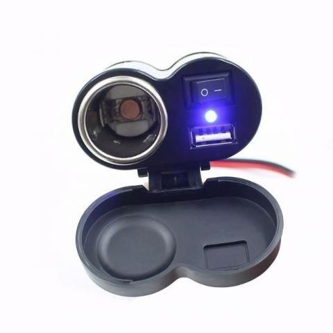 Carregador USB Para Motos RF-G31