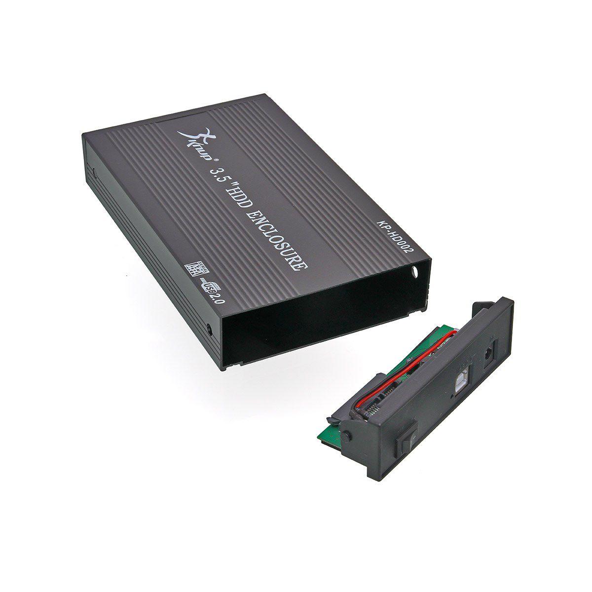 Case Para HD 3,5″ USB 2.0 KP-HD002