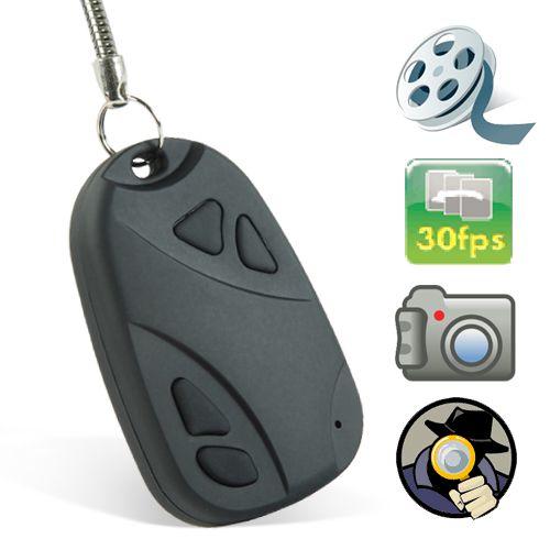 Chaveiro Espião 007 com Câmera Espiã HD