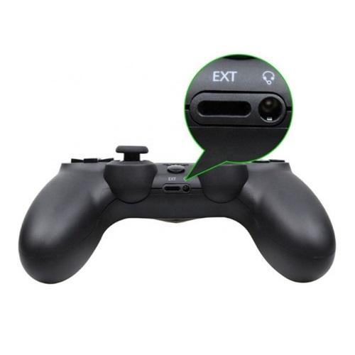 Controle Compatível com PS4 Sem Fio Ótima Qualidade e (Preto)