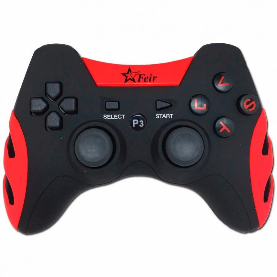 Controle Sem Fio 5 Em 1 Wireless Pc/ps1/ps2/ps3
