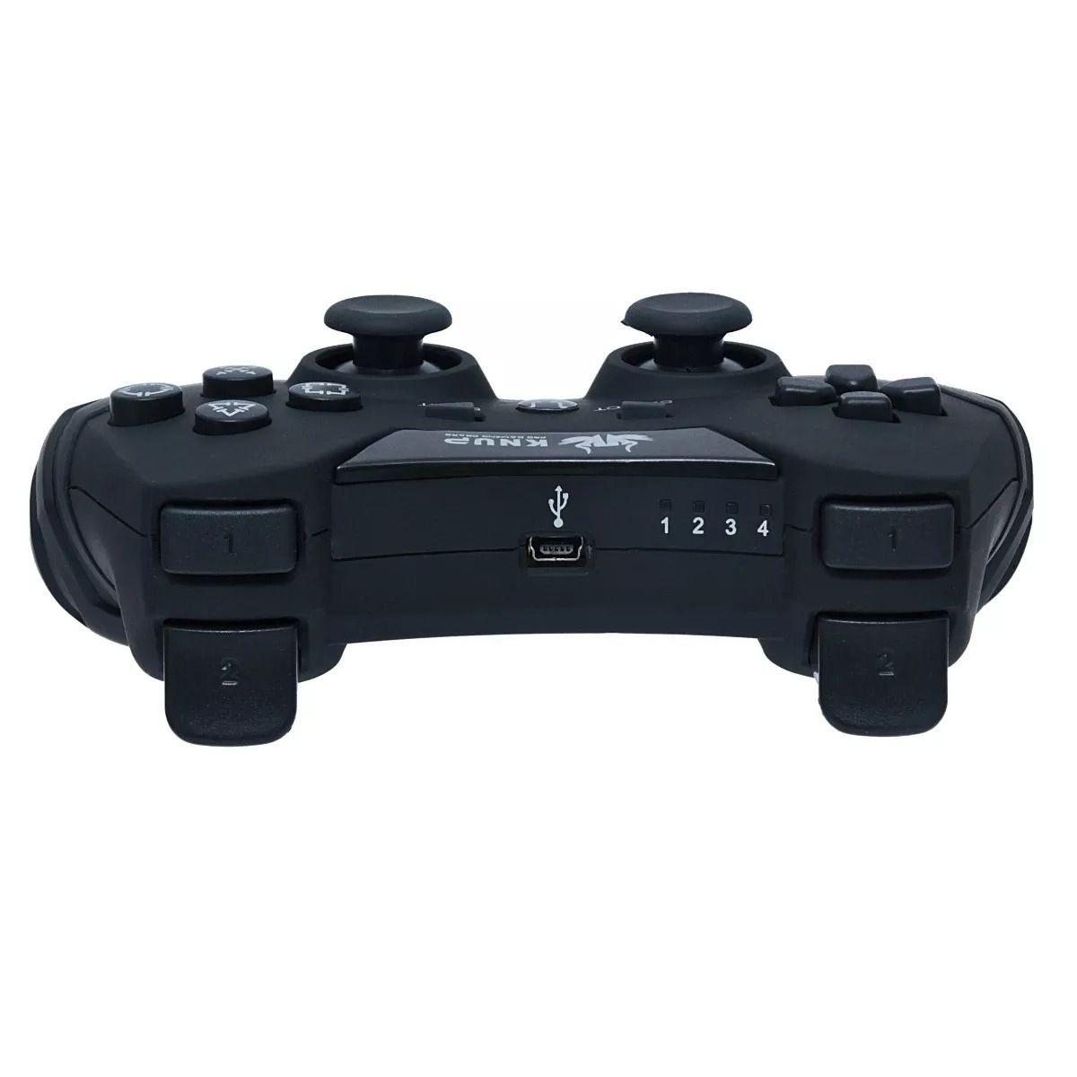 Controle Sem Fio 5 Em 1 Wireless Pc/ps1/ps2/ps3