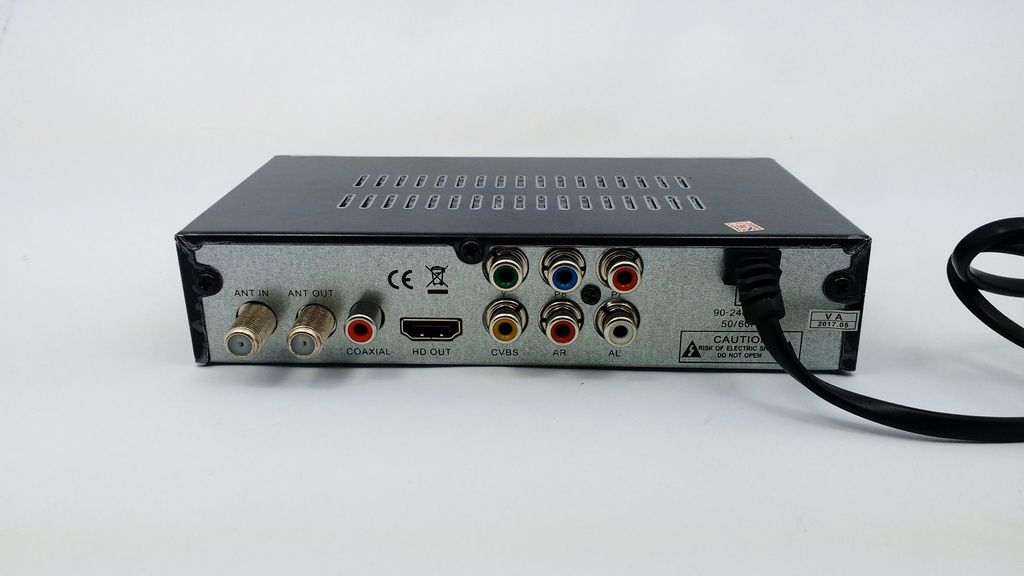 Conversor Digital Verde isdbt terrestrial HD 1080p gravador