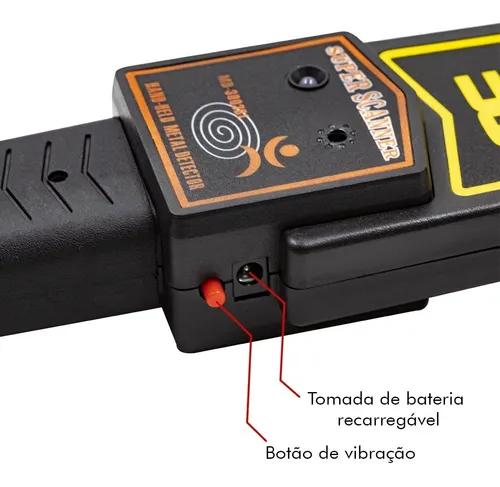 Detector Metal Leve Profissional Alta Sensibilidade A Metais