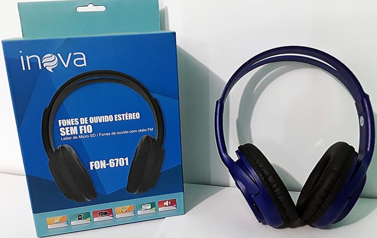 Fone Bluetooth Inova 6701