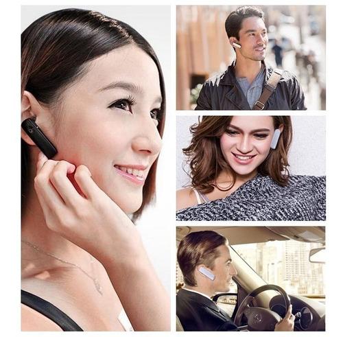 Fone Bluetooth Ouvido universal Sem Fio - Preto Global (um lado)
