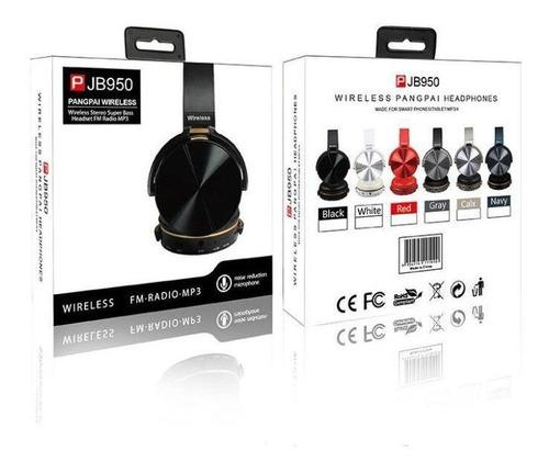 Fone  Bluetooth Super Woofer Qualidade Impecável ( JB-950) Premium