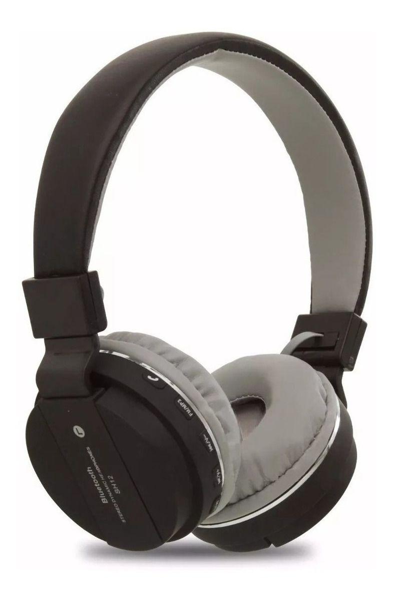 Fone De Ouvido Altomex Bluetooth Wireless Fm Mp3 A-833
