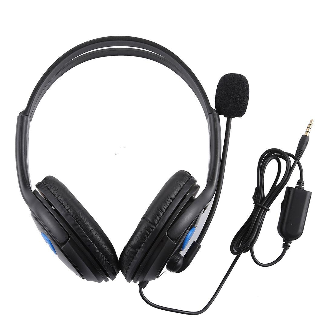 Fone de Ouvido Headset P2 com Microfone para PS4 PC Notebook e Celular