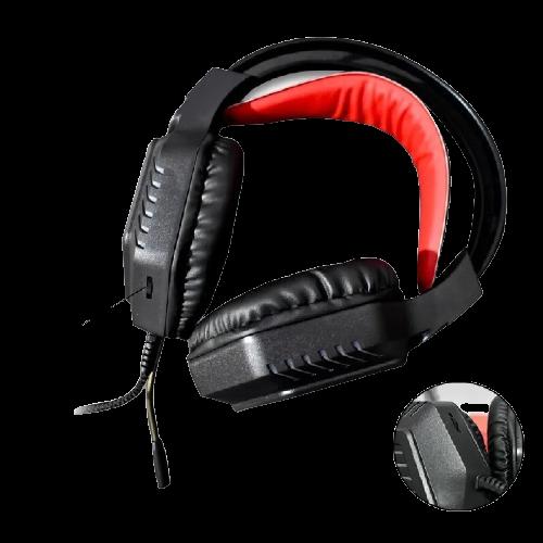 Fone De Ouvido Gamer Headset Com Led Jogos Gaming Pc AOAS AS-80