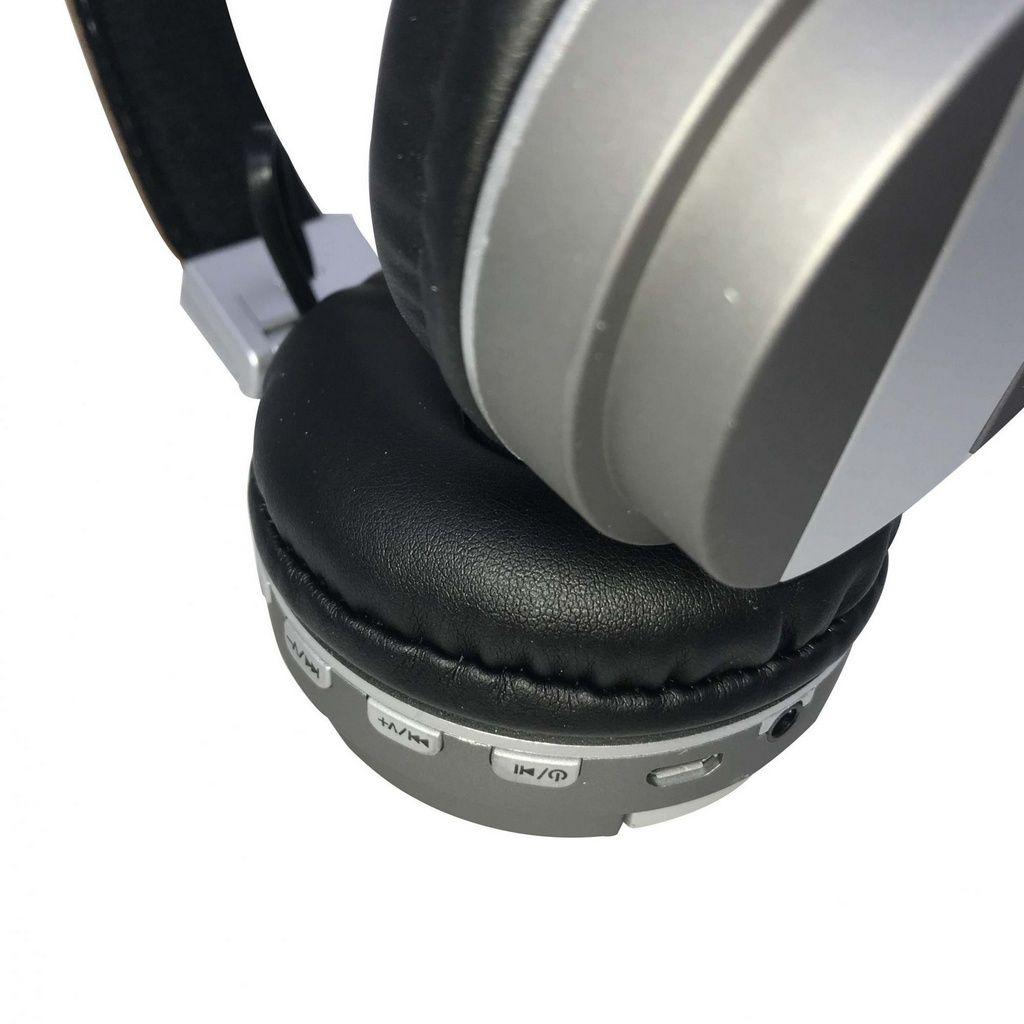 Fone de Ouvido Altomex Bluetooth A-839 - Marrom e Cinza