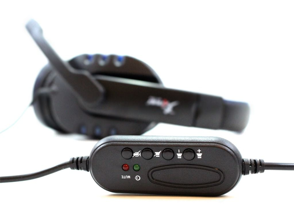Fone Headset Gamer Pc Knup Kp-359 P2 Usb Led Microfone Jogo
