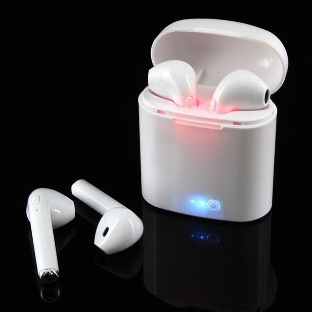 Fone Ouvido Bluetooth Tws Hbq I7s Airpods Android e Iphone