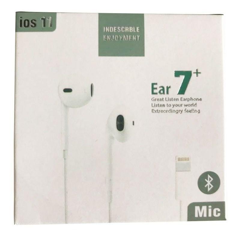 Fone Ouvido Com Microfone iPhone 5 , 6 Ear7+ Ios11
