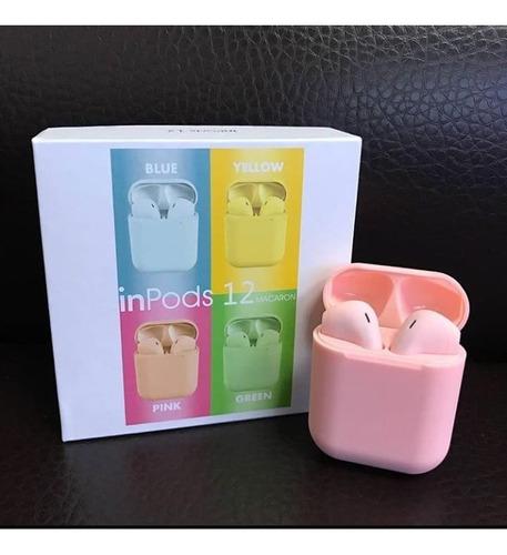 Fones de ouvido bluetooth 5.0 tws i12 Mini  sporte Color para todo o telefones