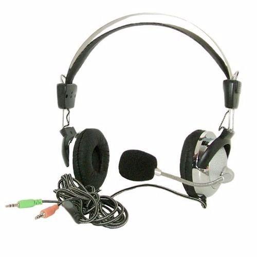 Fones De Ouvido Gamer  Para Lan House com microfone e ajuste de volume Sy 301mv  105db