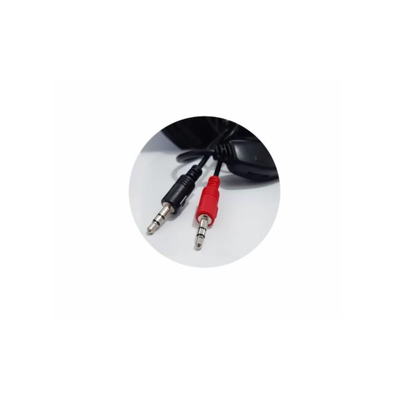 Headset Fone De Ouvido Office C/ Microfone Preto HF-2213