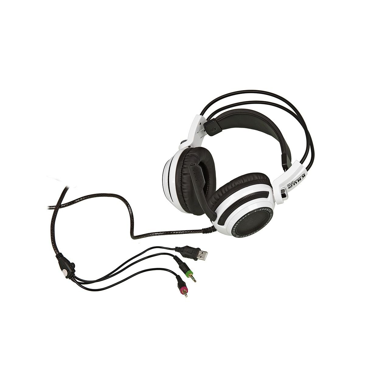 Headset Gamer 7.1 Knup Pro Gaming Gears KP-400 Com LED´s