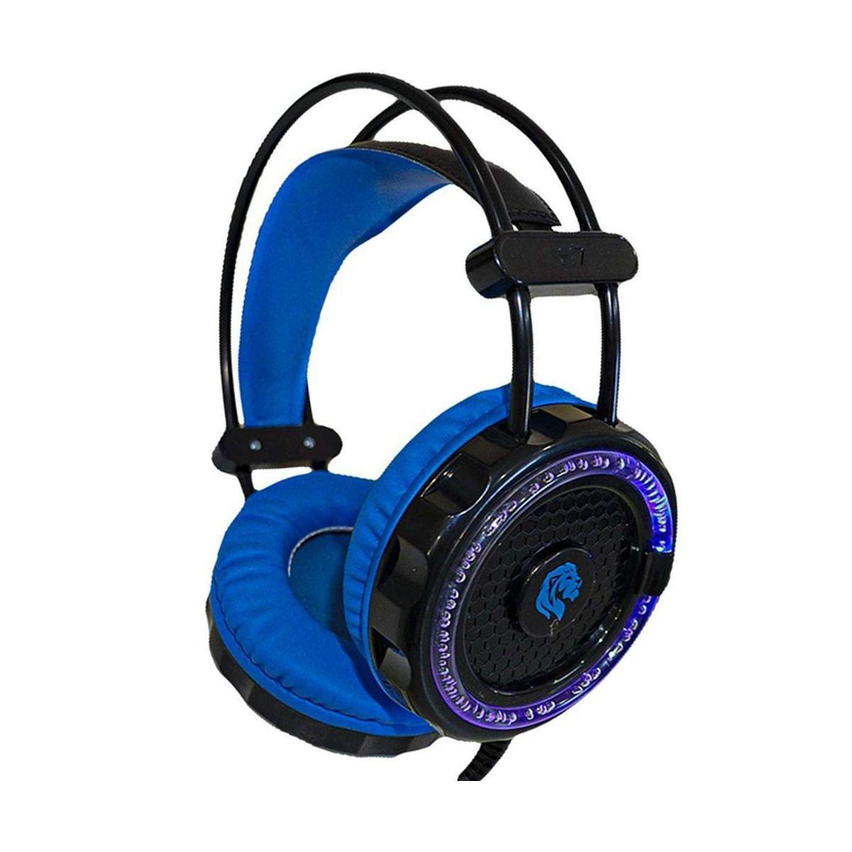 Headset Gamer Hayom 40mm Com Microfone e Led HF-2201