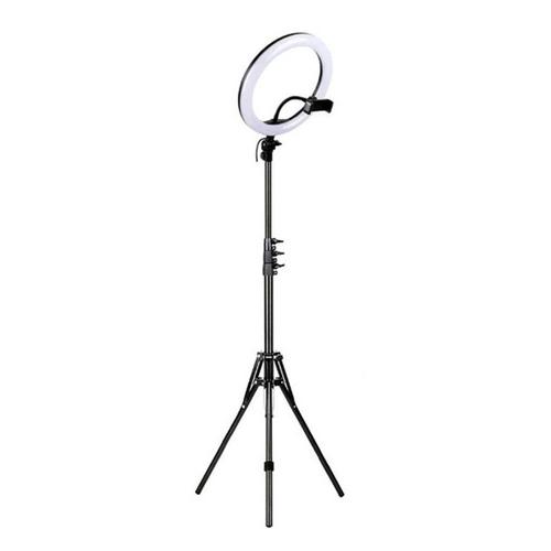 Kit Iluminador Anel de Led Ring Light 10 Polegadas 26cm + Ring Light 6 Polegadas 16cm de Mesa