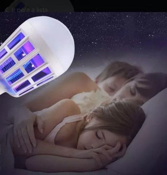 Lâmpada Mata Mosquito Led 15w Branco Mosquito Killer Lampada