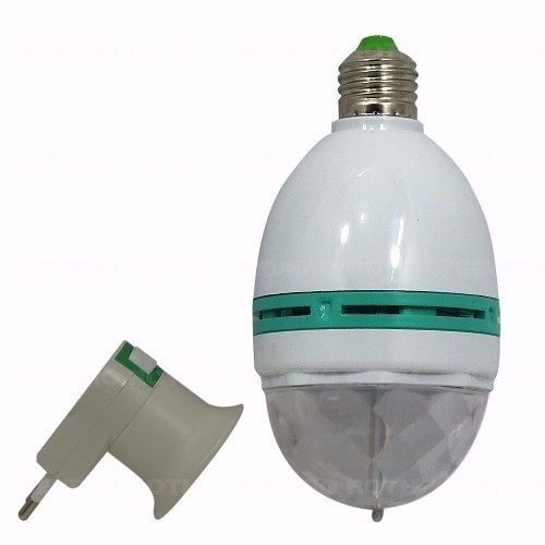 Lampada Rotativa Color RGB 3W w998 LED