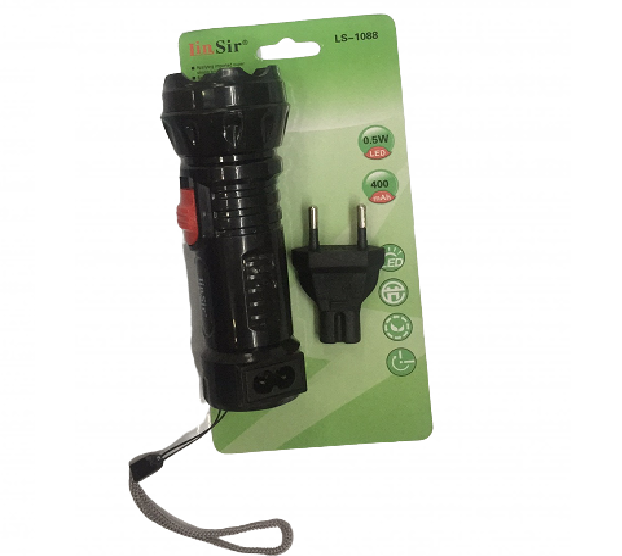 Lanterna de LED Compacta recarregável Lin Sir LS-1088