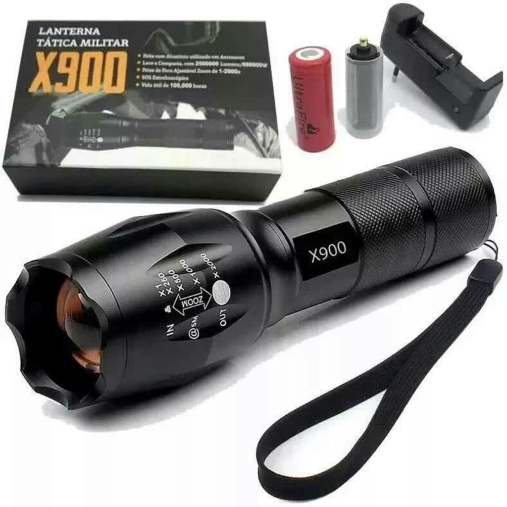 Lanterna X900 Tatica Militar Original