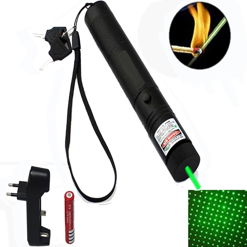 Laser Point Potente 10000 Mw 1Kilometro  Ajustável