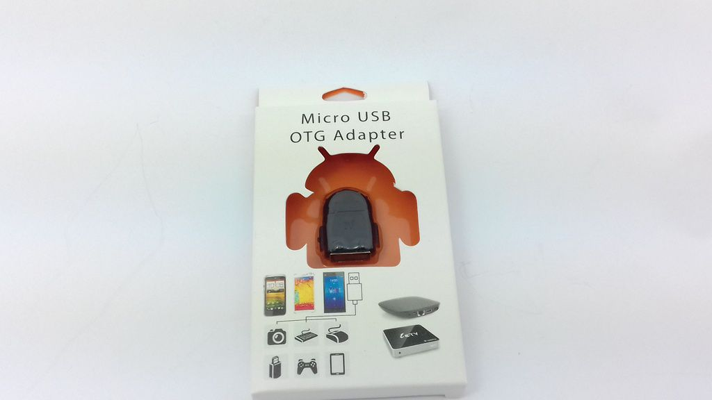 Leitor Micro Usb Otg Adaptador Otg