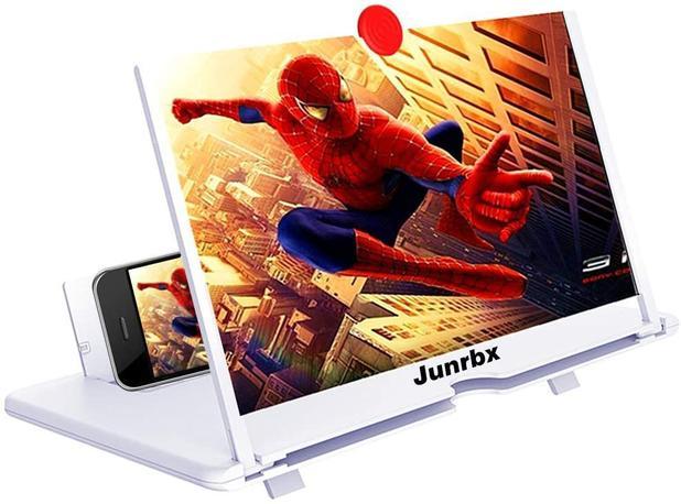 Lente De Aumento Tela 3d Suporte Ampliadora Zoom Celular