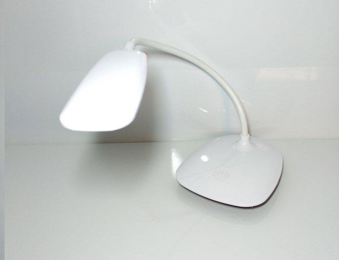 Luminária De Mesa Led Touch Recarregável Soft 3 Níveis Luz