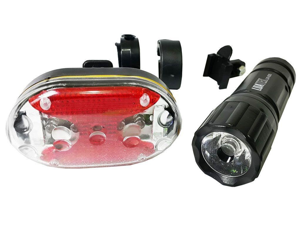 Luz de Segurança para Bicicleta Luatec  Lk-030