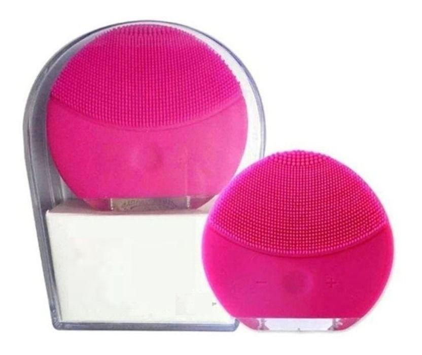 Massageador facial elétrico mini esponja para limpeza forclean