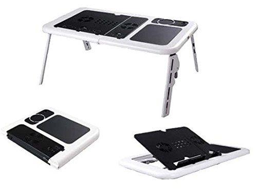 Mesa para Notebook Suporte com Cooler Base com Porta Copo