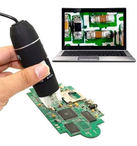 Microscópio Digital RoHS 2.0 Mega Pixels Digital 30 FPS
