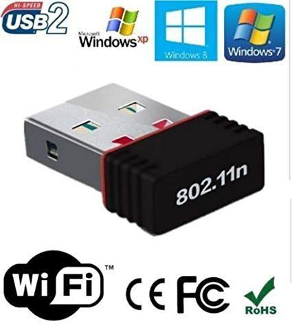 Mini Adaptador Wireless USB de 2.0  Wi-fi USB 2.0 600Mbps Lv-uw06