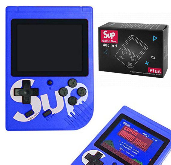 Mini Game Portátil 400 Jogos Retro Sup Game Box