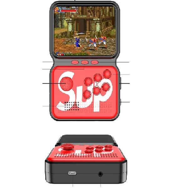 Mini Game Sup Portátil 900 Jogo Retro Nintendo Gba Arcade M3