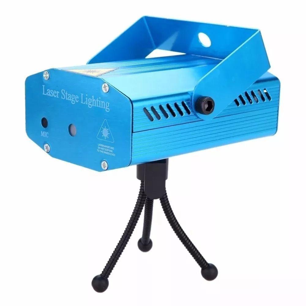 Mini Jogo de luz iluminação laser XY-08-4