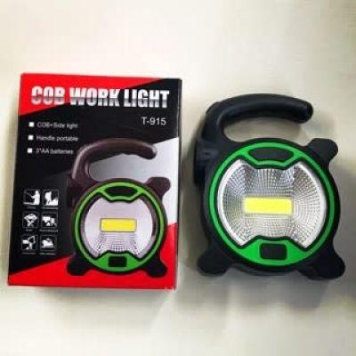 Mini Lanterna Multifuncional T-915 Caça Pesca Acampamento e Mecânico