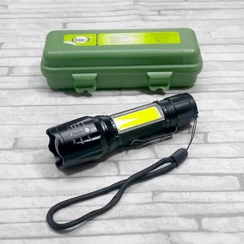 Mini Lanterna Potente de Bolso USB Recarregável MO-513
