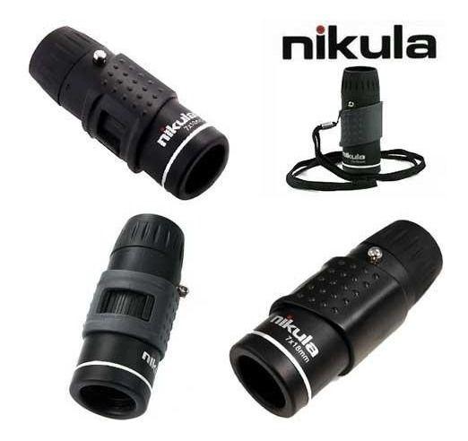 Monóculo Nikula Golfscope 7x18 Luneta Para 1 Olho Binóculo