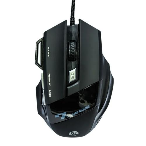 Mouse Gamer 7 Botões Preto com LED Hayom MU-2909