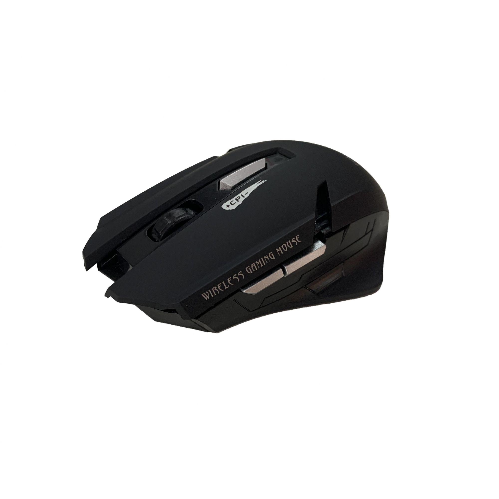 Mouse Gamer Wirelles Hmaston 2.4Ghz E-1700 High Sensitive Series