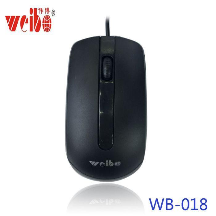 Mouse óptico com fio usb WB-018USB