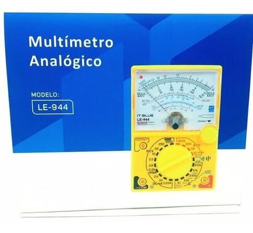Multimetro Analógico LE-944